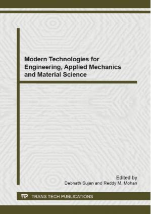 Book cover Modern Technologies for Engineering, Applied Mechanics and Material Science