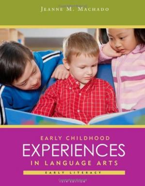 Book cover Early Childhood Experiences in Language Arts: Early Literacy