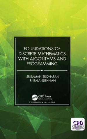 Book cover Foundations of Discrete Mathematics with Algorithms and Programming