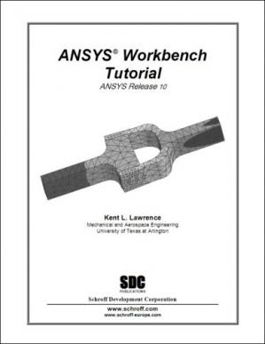 Book cover ANSYS Workbench Tutorial