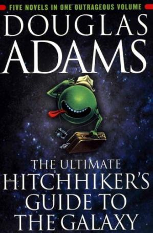表紙 The Ultimate Hitchhiker's Guide to the Galaxy