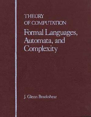 Book cover Theory of Computation: Formal Languages, Automata, and Complexity