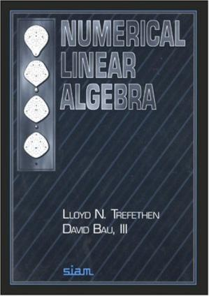 Book cover Numerical Linear Algebra