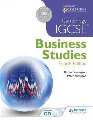 Book cover Cambridge IGCSE Business Studies