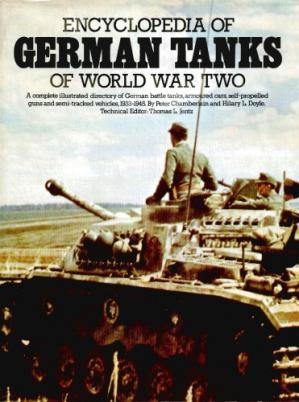 Book cover Encyclopedia of German Tanks of World War Two