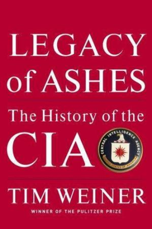 Couverture du livre Legacy of Ashes: The History of the CIA