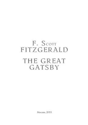 Kulit buku The Great Gatsby