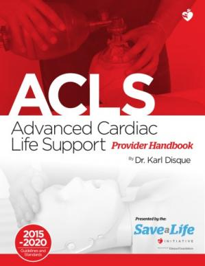 Book cover Advanced Cardiac Life Support Provider Handbook 2015-2020
