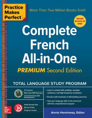 غلاف الكتاب Complete French All-in-One