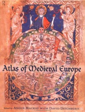 Book cover Atlas of Medieval Europe