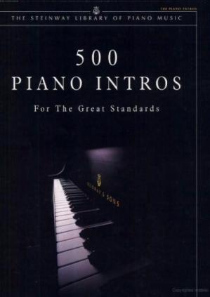 Book cover 500 Piano Intros for the Great Standards