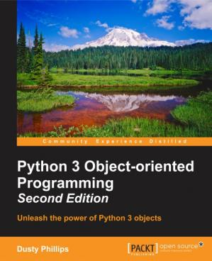 Book cover Python 3 Object-oriented Programming
