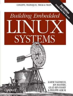 Portada del libro Building Embedded Linux Systems