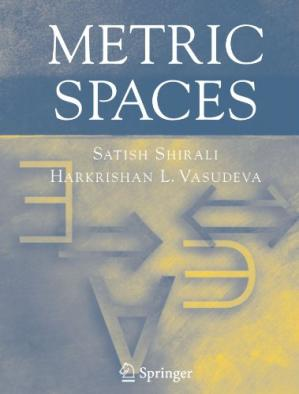 Book cover Metric spaces