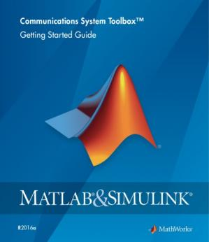 Book cover Matlab Communications System Toolbox documentation