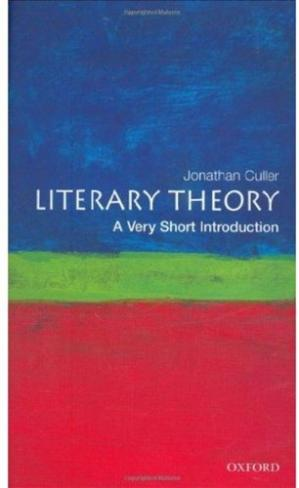 Book cover Literary Theory: A Very Short Introduction