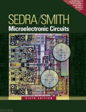 A capa do livro Microelectronic Circuits
