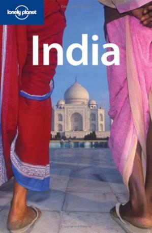 Book cover India (Lonely Planet Country Guide)