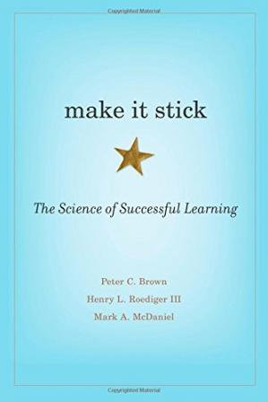 Book cover Make It Stick: The Science of Successful Learning