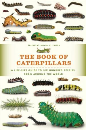 पुस्तक कवर The Book of Caterpillars: A Life-size Guide to Six Hundred Species From Around the World