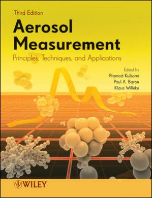 Buchdeckel Aerosol Measurement: Principles, Techniques, and Applications, Third Edition