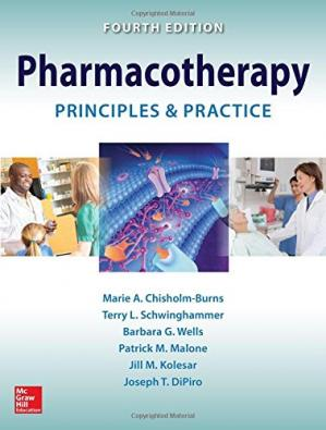 Book cover Pharmacotherapy Principles and Practice