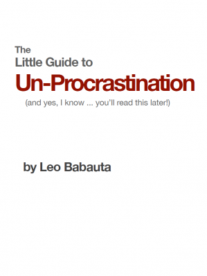 ปกหนังสือ The Little Guide to Un-Procrastination