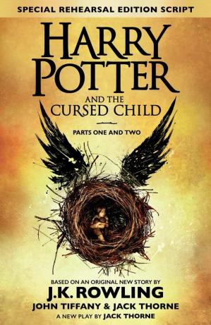 书籍封面 Harry Potter and the Cursed Child