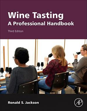 Book cover Wine Tasting: A Professional Handbook. Third Edition