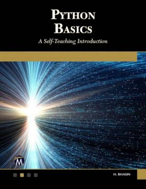 غلاف الكتاب Python Basics: A Self-Teaching Introduction
