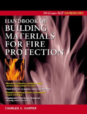 Portada del libro Handbook of Building Materials for Fire Protection