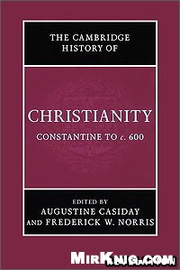 Portada del libro The Cambridge History of Christianity. Vol. 2, Constantine to c.600