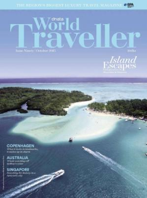 Book cover World Traveller 2015-10