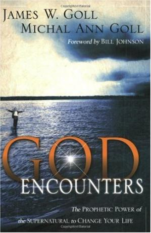 A capa do livro God Encounters: The Prophetic Power Of The Supernatural To Change Your Life