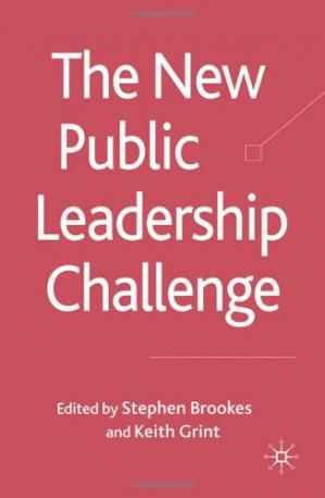 Book cover The New Public Leadership Challenge