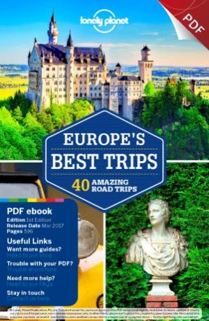 पुस्तक कवर Lonely Planet  Europe's Best Trips (Travel Guide)