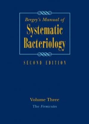 Sampul buku Bergey's Manual of Systematic Bacteriology: Volume 3: The Firmicutes, Second Edition