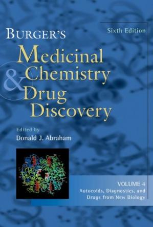 Book cover Burger's Medicinal Chemistry and Drug Discovery, Autocoids, Diagnostics, and Drugs from New Biology