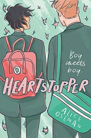 Book cover Heartstopper  boy meets boy