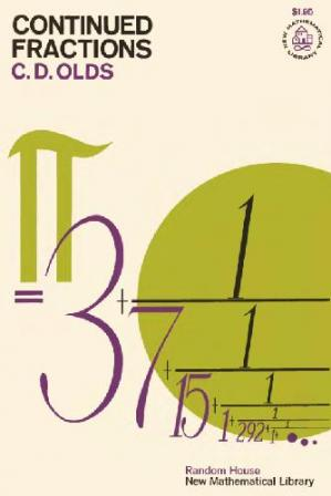 Book cover Continued fractions