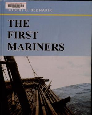 Sampul buku The First Mariners
