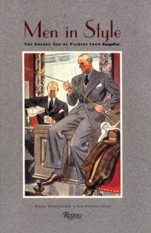 Sampul buku Men in style: the golden age of fashion from Esquire
