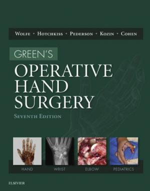Book cover Green's Operative Hand Surgery