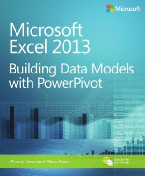 Okładka książki Microsoft Excel 2013  Building Data Models with PowerPivot