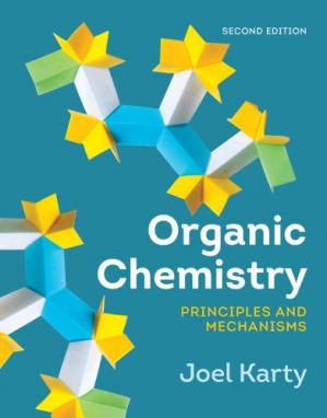 Book cover Organic chemistry : principles and mechanisms