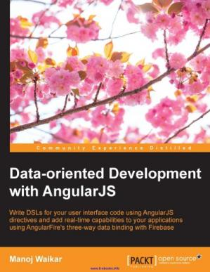 Book cover Data-oriented Development with AngularJS
