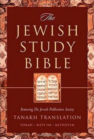 Okładka książki The Jewish Study Bible: Featuring The Jewish Publication Society TANAKH Translation