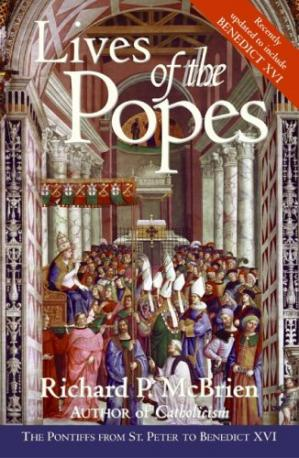 Book cover Lives of the Popes - reissue: The Pontiffs from St. Peter to Benedict XVI