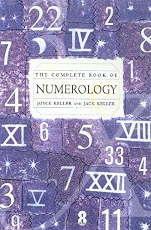 Book cover The complete book of numerology