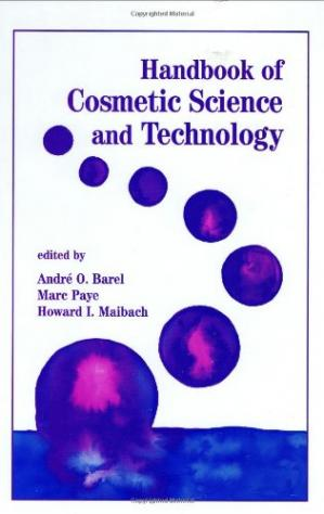 Sampul buku Handbook of Cosmetic Science & Technology